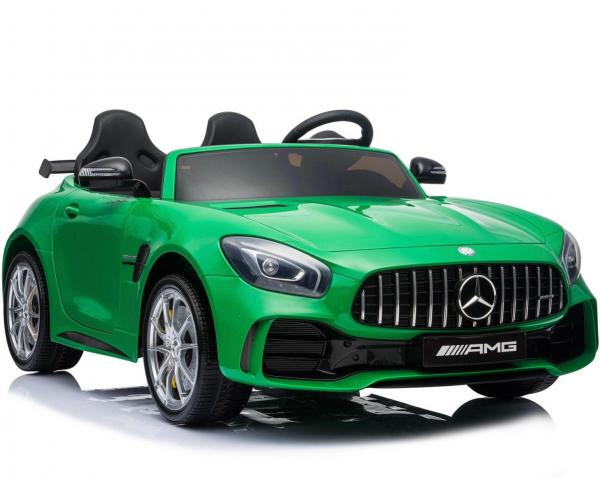 Licensed Mercedes Benz AMG GTR 2 Seater Roadster 24V Ride On Car - Green -15221
