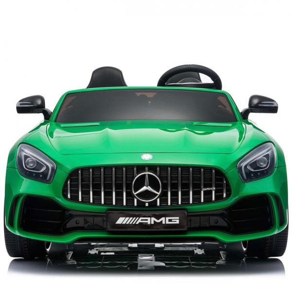 Licensed Mercedes Benz AMG GTR 2 Seater Roadster 24V Ride On Car - Green -15226