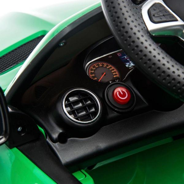 Licensed Mercedes Benz AMG GTR 2 Seater Roadster 24V Ride On Car - Green -15223
