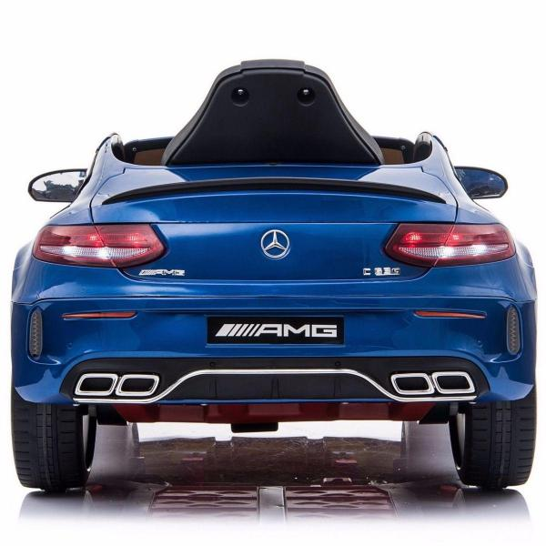 Mercedes-Benz Licensed AMG C63 C-Class 12V Battery Ride On Car - Blue-15204