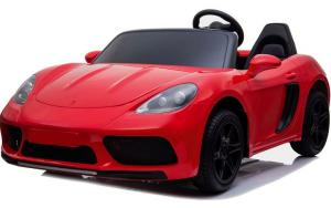 Super Sport Car XL 24V Ride On Car with Twin 180W Motors - 2 Seater Roadster - Red