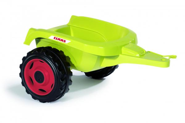 Smoby Claas Farmer XL Childrens Ride On Pedal Toy Tractor and Trailer-15889