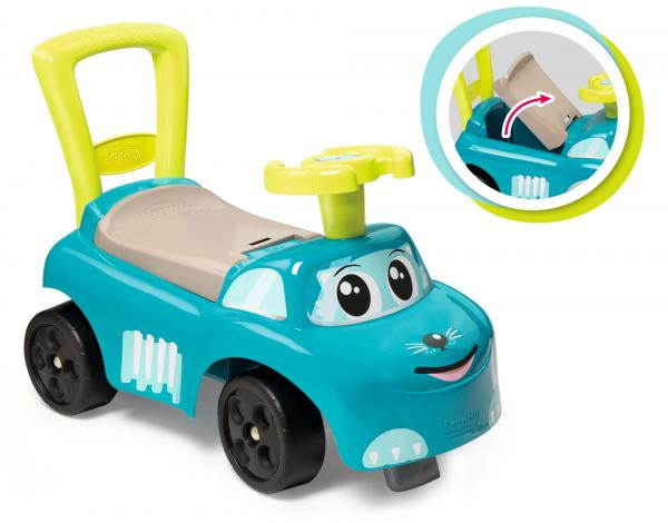 Smoby Auto Blue Ride on Push on Car-15911