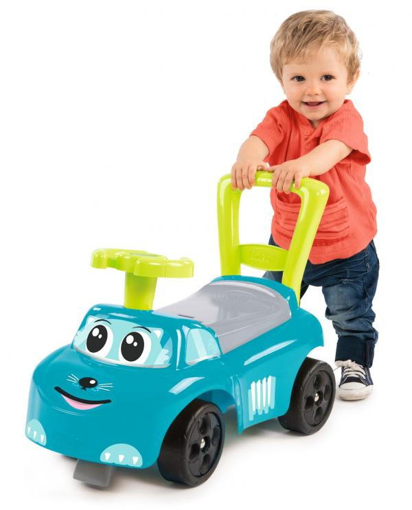Smoby Auto Blue Ride on Push on Car-0