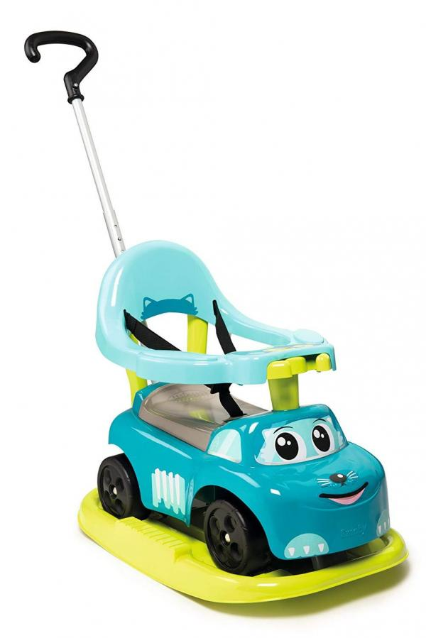 Smoby Auto Bascule 4 in 1 Ride-On - Blue-15946