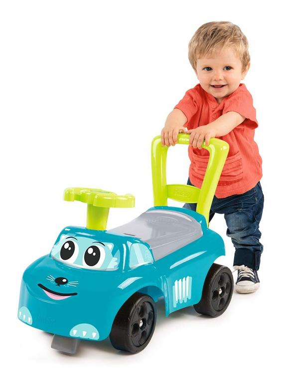 Smoby Auto Bascule 4 in 1 Ride-On - Blue-15949