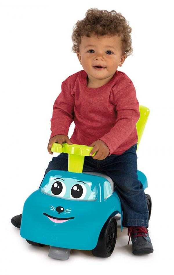 Smoby Auto Bascule 4 in 1 Ride-On - Blue-15952