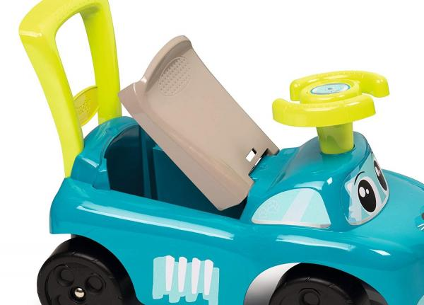 Smoby Auto Bascule 4 in 1 Ride-On - Blue-15947
