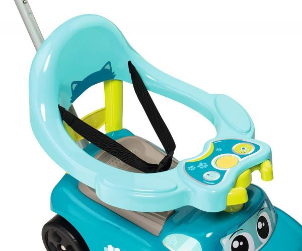 Smoby Auto Bascule 4 in 1 Ride-On - Blue-15953
