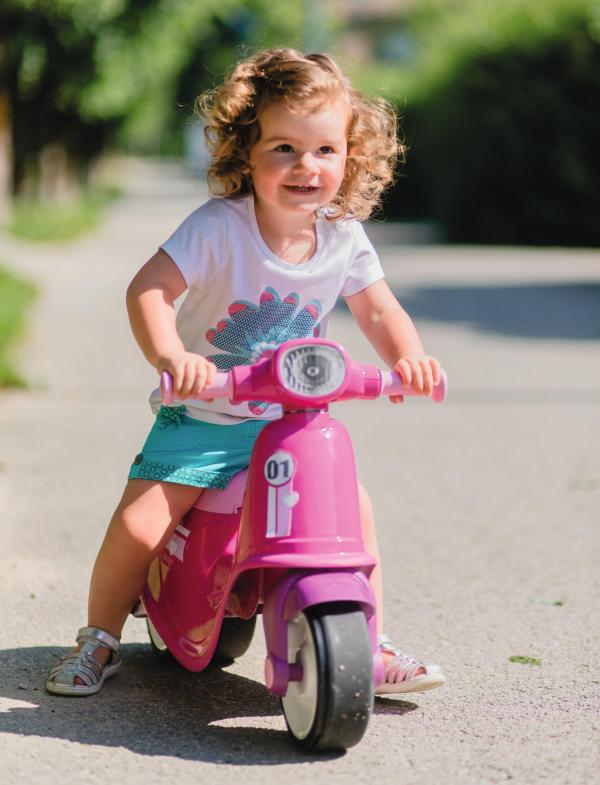 Smoby Ride On Scooter, Moped – Pink-15842