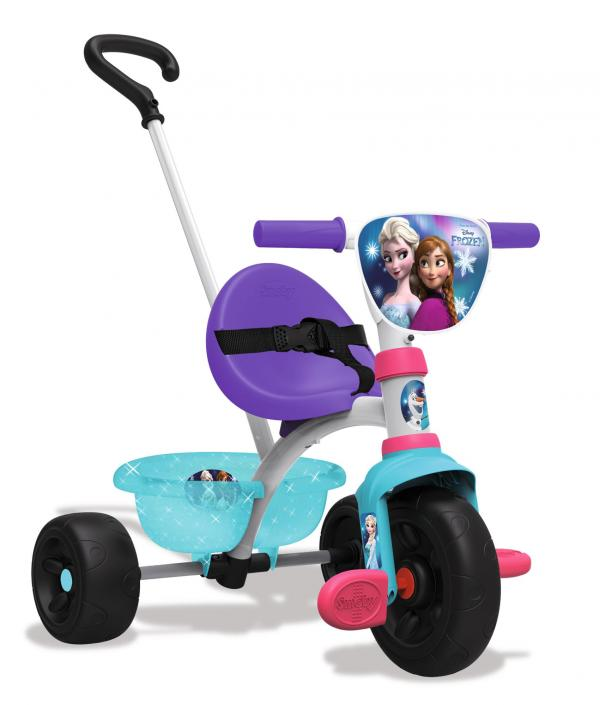 Smoby Be Move Frozen Tricycle with Parent Handle-0