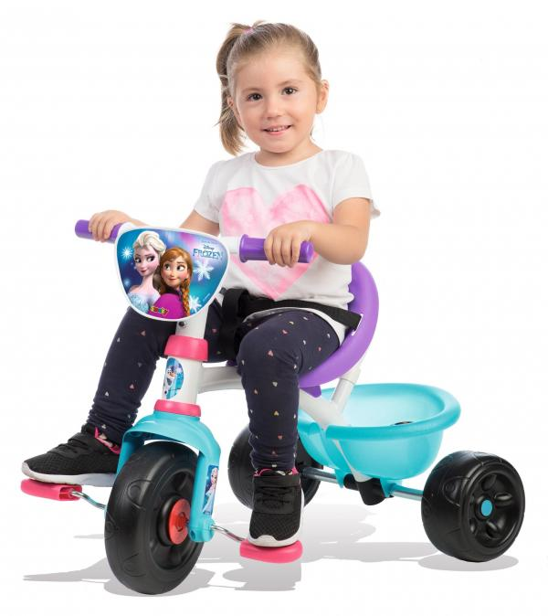 Smoby Be Move Frozen Tricycle with Parent Handle-15968