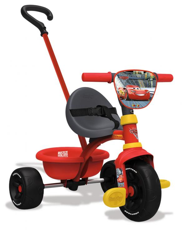 Smoby Be Move Cars Tricycle with Parent Handle-16000