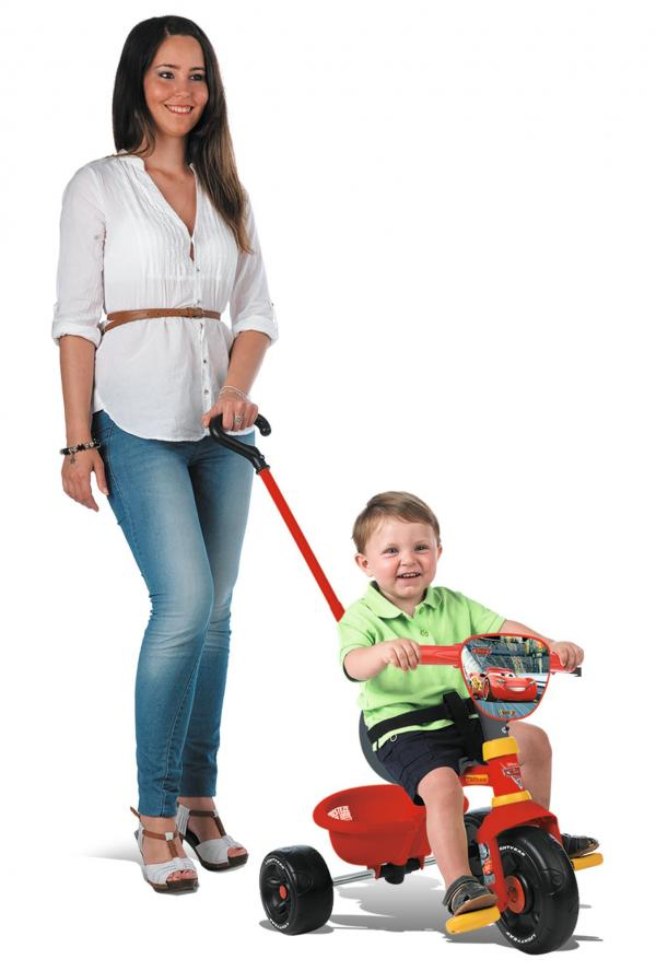 Smoby Be Move Cars Tricycle with Parent Handle-0