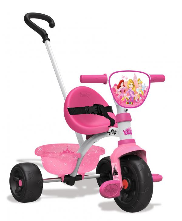 Smoby Be Move Disney Princess Tricycle with Parent Handle-16005