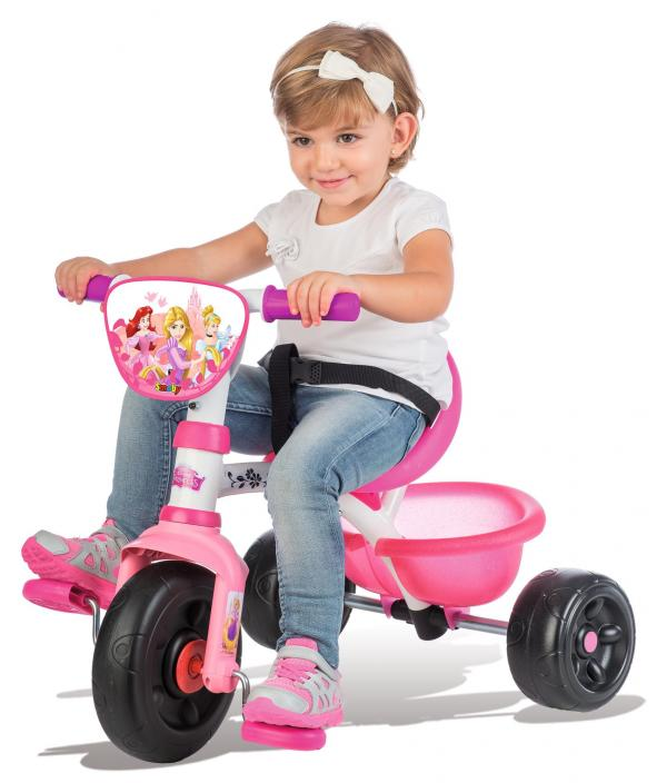 Smoby Be Move Disney Princess Tricycle with Parent Handle-16006