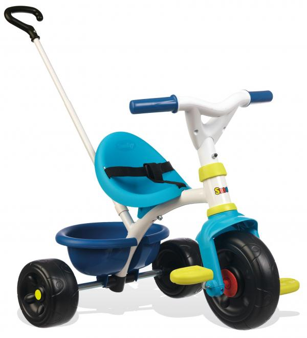 Smoby Be Fun Tricycle with Parent Handle - Blue-15870