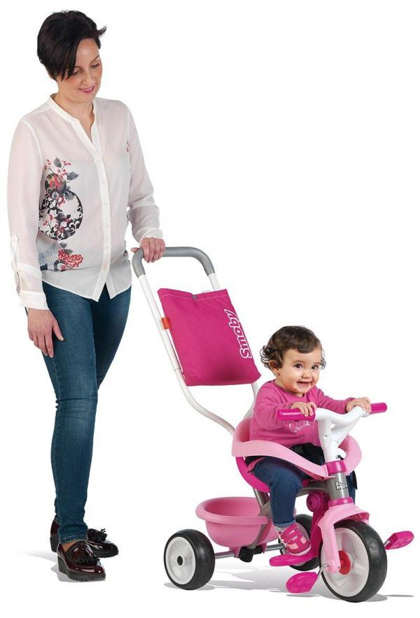 Smoby Be Move Comfort Tricycle Pink-15991