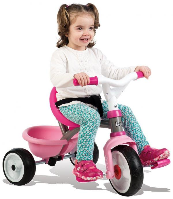 Smoby Be Move Comfort Tricycle Pink-15990