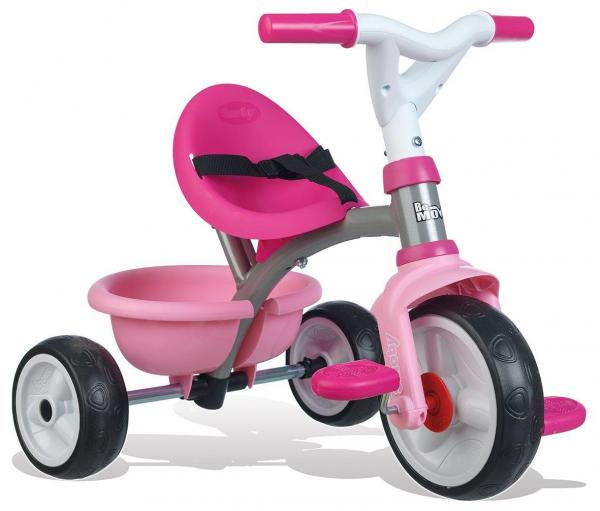 Smoby Be Move Comfort Tricycle Pink-15995