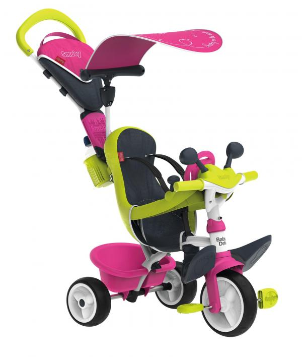 Smoby Baby Driver Confort Pink Trike-16028