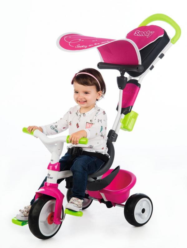 Smoby Baby Driver Confort Pink Trike-16031