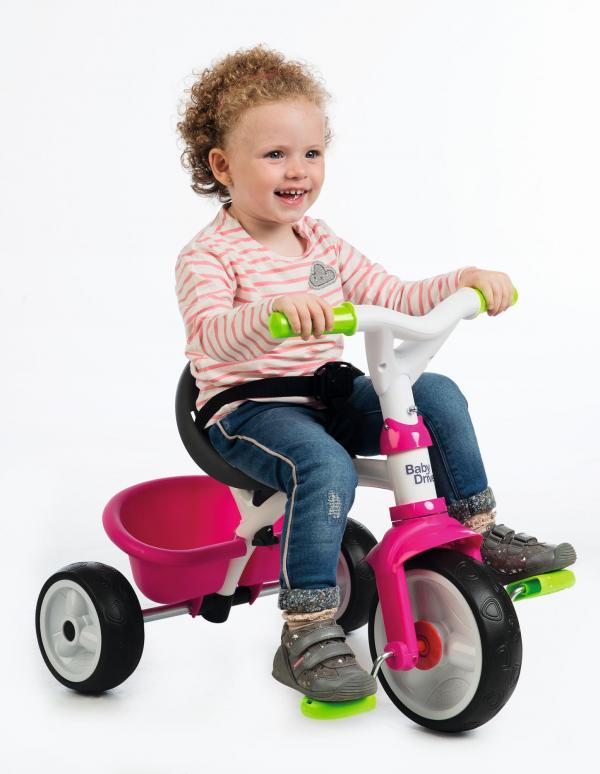 Smoby Baby Driver Confort Pink Trike-16030