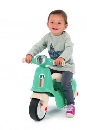 Smoby Ride On Scooter Moped – Blue