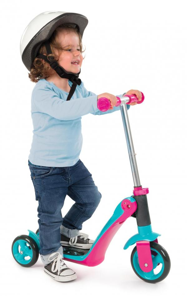 Smoby Reversible 2-in-1 Scooter – Pink-16040