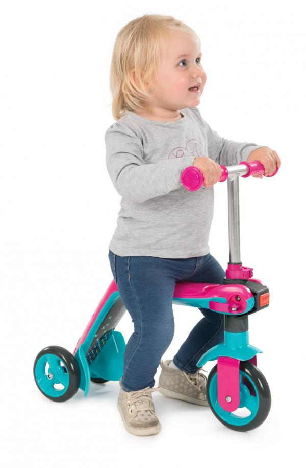 Smoby Reversible 2-in-1 Scooter – Pink-16042
