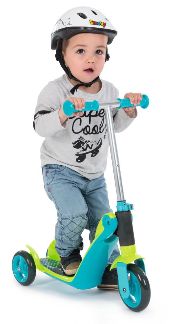 Smoby Reversible 2-in-1 Scooter - Blue-16019