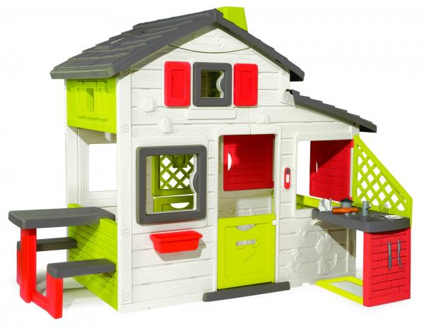 Smoby The New Friends House With Kitchen-15832