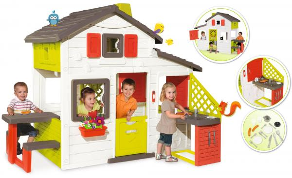 Smoby The New Friends House With Kitchen-15831