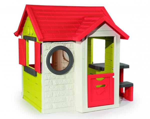 Smoby My House with Picnic Table-15797