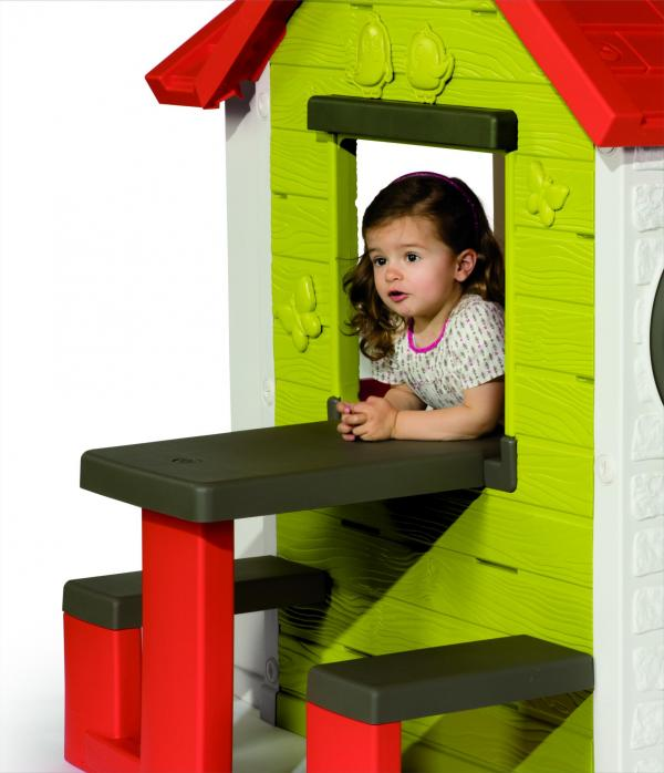 Smoby My House with Picnic Table-15794
