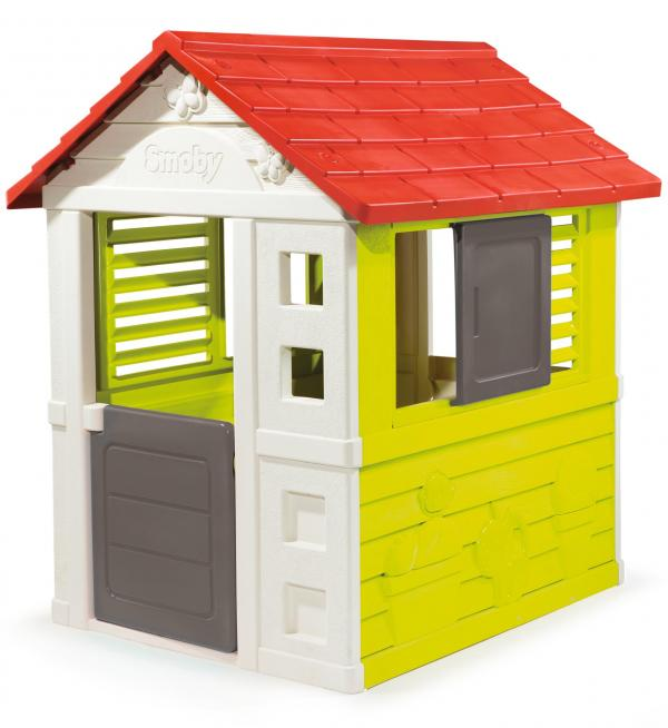 Smoby Nature Home Children's Playhouse-15780