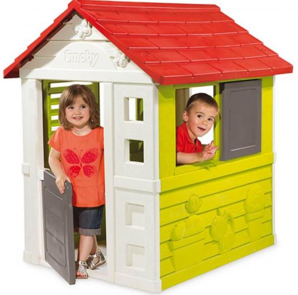 Smoby Nature Home Children's Playhouse-0