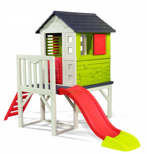 Smoby My House on Stilts with Slide-15771