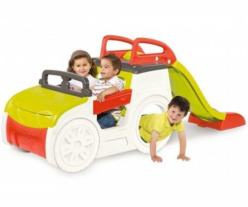 Smoby Childrens Adventure Car Play Centre and Slide-0
