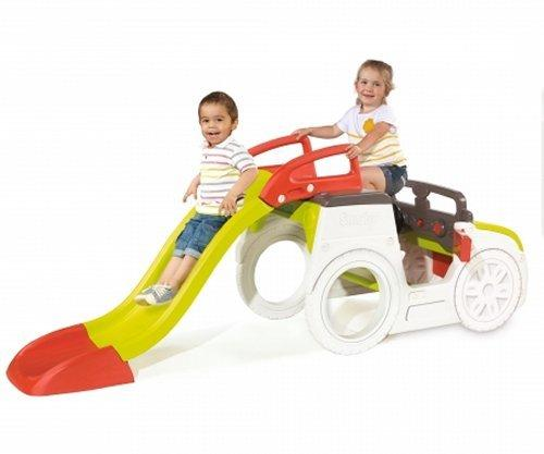 Smoby Childrens Adventure Car Play Centre and Slide-15822