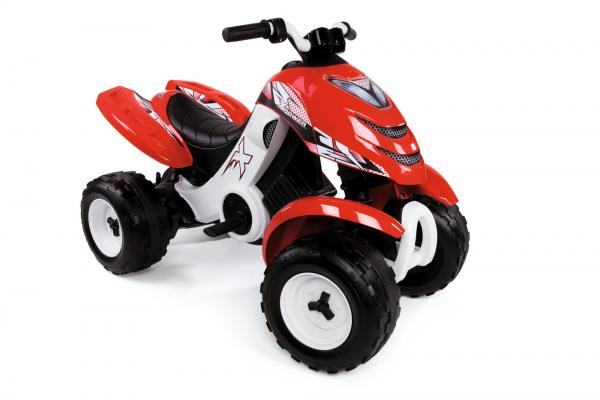 Smoby X Power 6v Electric / Battery Ride on Quad - Red-16140