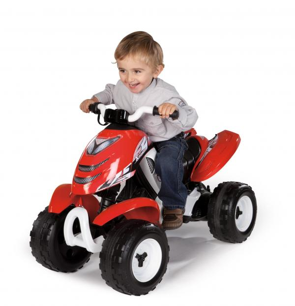 Smoby X Power 6v Electric / Battery Ride on Quad - Red-0
