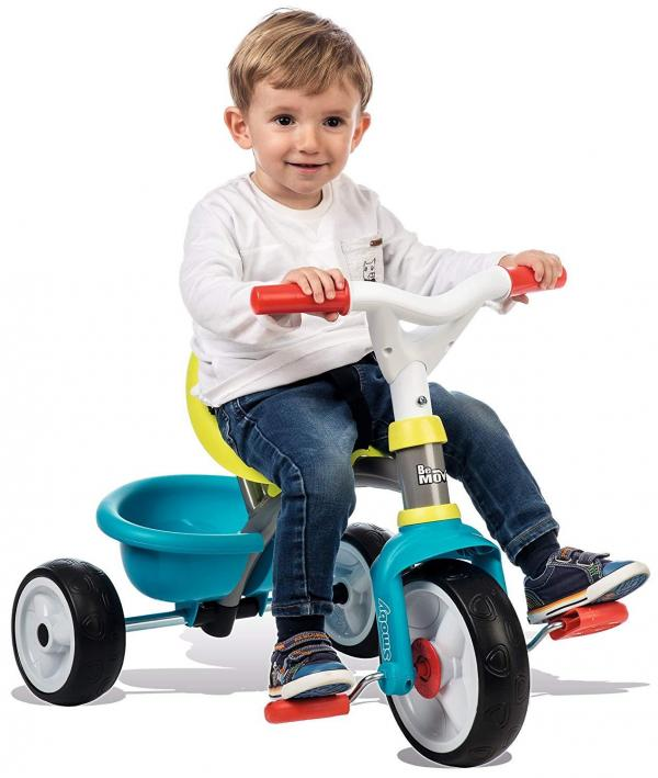 Smoby Be Move Comfort Tricycle Blue-16150