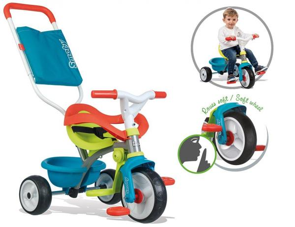 Smoby Be Move Comfort Tricycle Blue-16147