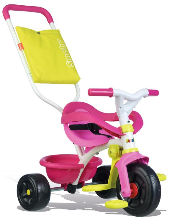 Smoby Be Move Comfort Tricycle Pink-16164
