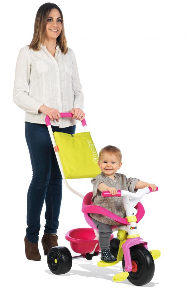 Smoby Be Move Comfort Tricycle Pink-0