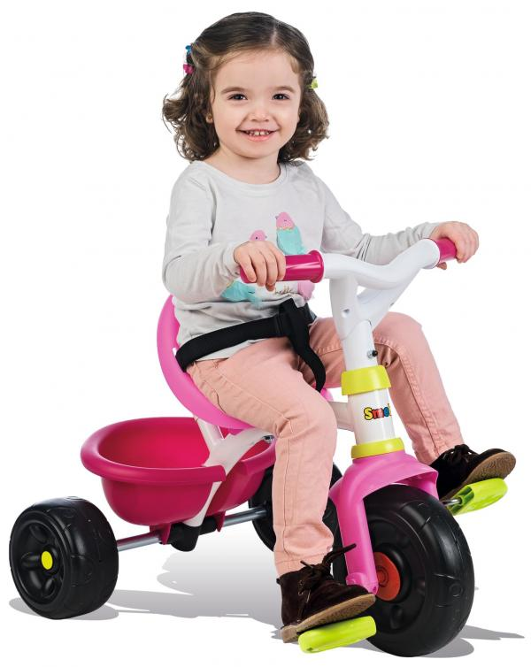 Smoby Be Move Comfort Tricycle Pink-16165