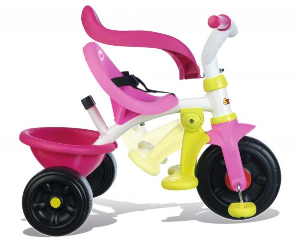 Smoby Be Move Comfort Tricycle Pink-16167