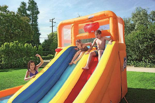 Bestway H2o Go Tsunami Inflatable Bouncy Castle 16ft Water Park -16075