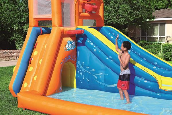 Bestway H2o Go Tsunami Inflatable Bouncy Castle 16ft Water Park -16078